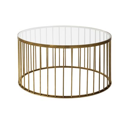 Tables - CAGE 05 TABLE BISTROT - IL BRONZETTO / BRASS BROTHERS
