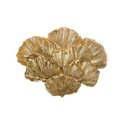 Wall lamps - GINGKO BILOBA 03 WALL LIGHT - IL BRONZETTO / BRASS BROTHERS