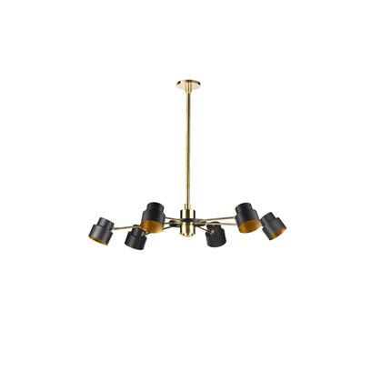 Pendant lamps - SATELLITE 06 MEDIUM - IL BRONZETTO / BRASS BROTHERS