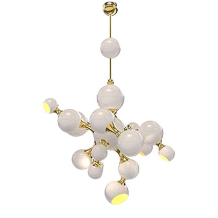 Ceiling lights - Atomic Suspension Lamp - CIRCU