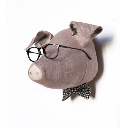 Decorative items - Soft Pig Cornelius - Animal head - SOFTHEADS