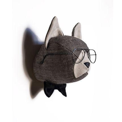 Decorative items - Soft Cat Humphrey - Animal head - SOFTHEADS