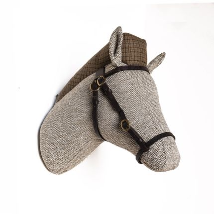 Decorative items - Soft Horse Straw- Animal head - SOFTHEADS