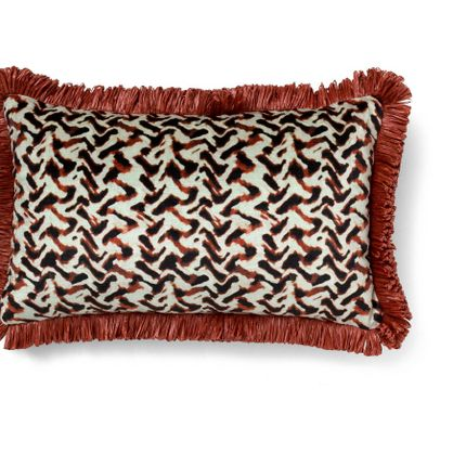 Cushions - ALBUS RED ECLECTIC - BRABBU DESIGN FORCES