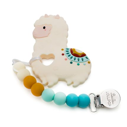 Jouets - Llama Silicone Baby Teether  - LOULOU LOLLIPOP