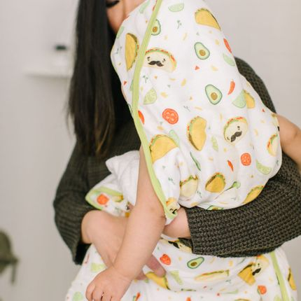 Kids accessories - Muslin Swaddle - Tacos - LOULOU LOLLIPOP