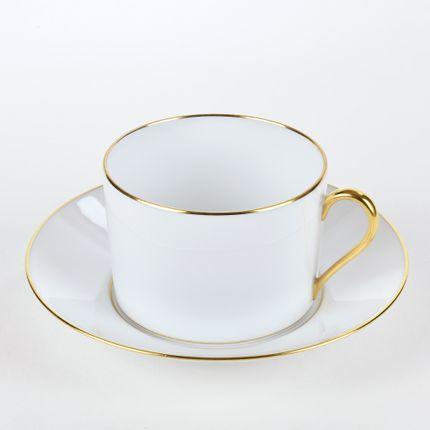 Tasses et mugs - La tasse thé ELEGANCE or mat - ALAIN BABULE