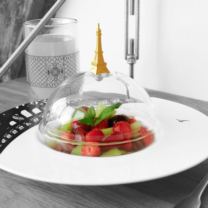 Everyday plates - Les Assiettes Parisiennes - SILODESIGN - PARIS