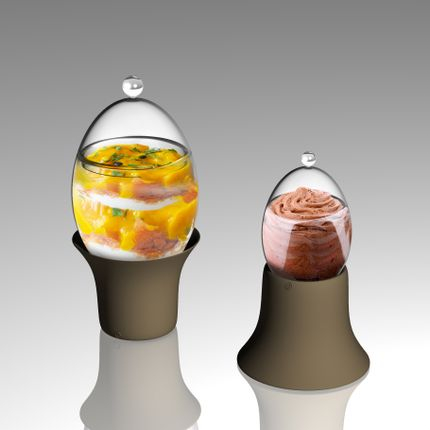 Chocolat - Les œufs en verres - SILODESIGN - PARIS