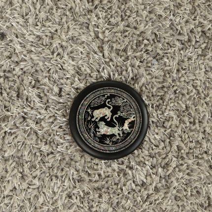 Gift - Miroir tigre noir - SEOUL COLLECT