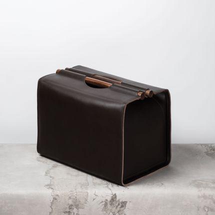 Storage box - RABITTI1969 LEATHER MASTERPIECES - RABITTI 1969 BY GIOBAGNARA