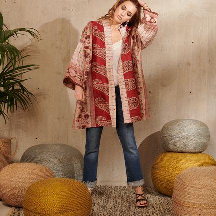 Prêt à porter - Kimono en soie - LA CABANE DE STELLA