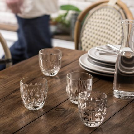 Glass - Pack of 4 TROQUET tumblers - LA ROCHÈRE