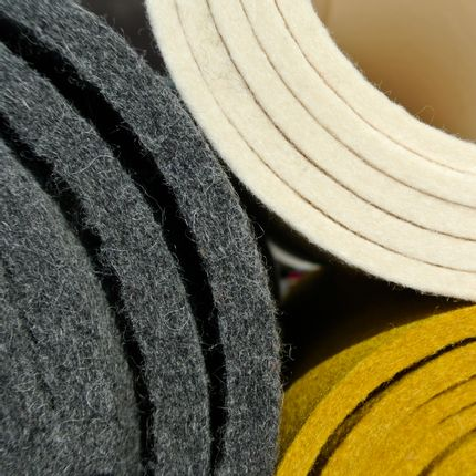 Wall coverings - Woolfelt with thickness 10mm - HOLLANDFELT