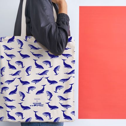 Decorative objects - Tote bags - SEASON PAPER COLLECTION