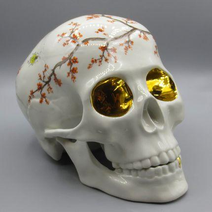 Objets design - Skull Flower - RUDOLF KÄMMER PORCELAIN