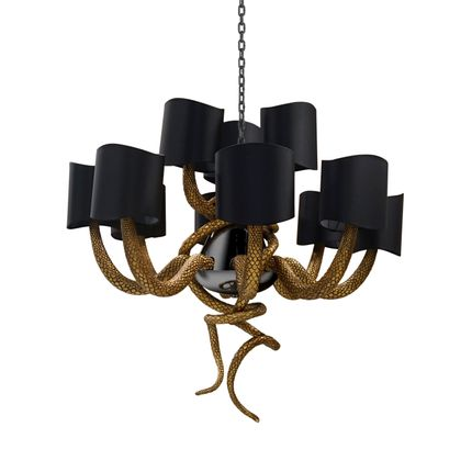 Ceiling lights - Serpentine Chandelier - KOKET