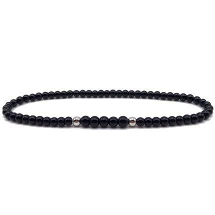 Bijoux - Bracelet perle Onyx - .POLYGON