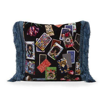 Cushions - GAME OF CARDS CUSHION - RUG'SOCIETY