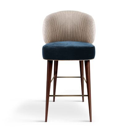 Chairs - Canyon Bar Chair - Porus Studio