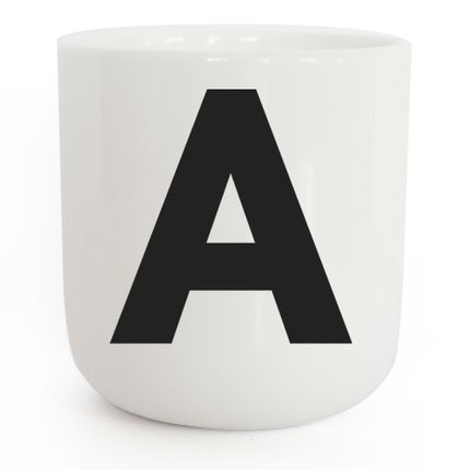 Céramique - Mugs PLTY : The Wave Alphabet - PLTY