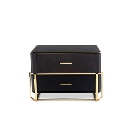 Night tables - Waltz Nightstand - LUXXU HOME