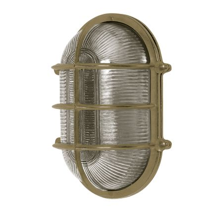 "Appliques - ""Giant"" Oval Bulkhead light no 25 - ANDROMEDA LIGHTING"