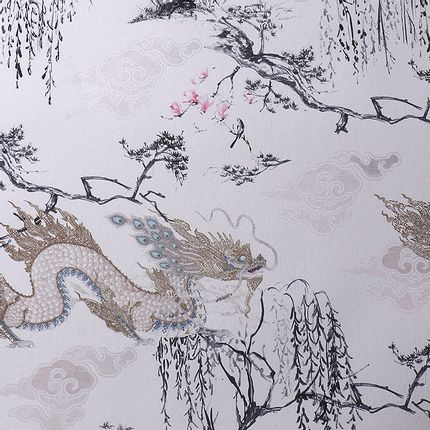 Décoration murale - DRAGON FLY WALLPAPER - RUG'SOCIETY