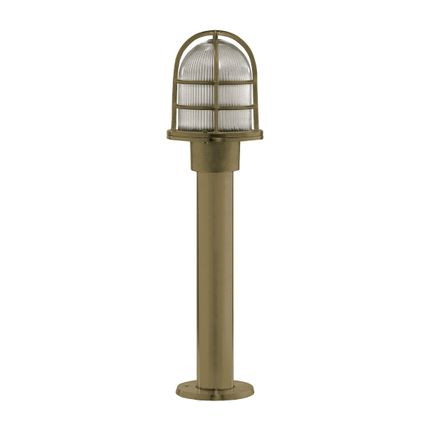 Lampadaires - Brass Column Light no 65 - ANDROMEDA LIGHTING