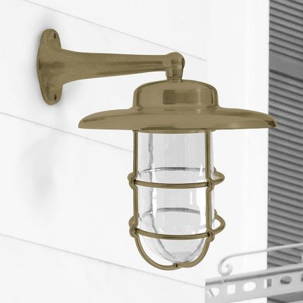 Wall lamps - Brass Wall Sconce no 753 - ANDROMEDA LIGHTING