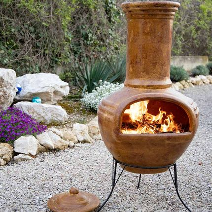 Outdoor fireplaces - Mexican chimney - AMADERA