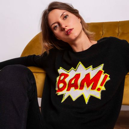 Ready-to-wear - Sweater BAM  - MADLUV CASHMERE GOES POP