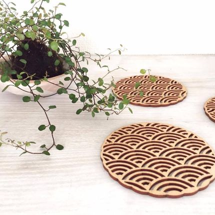 Gift - Wooden coasters - NORD DECO