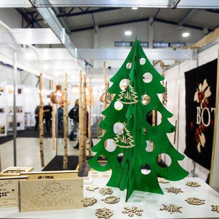 Décorations de Noël - Ornements en bois - NORD DECO
