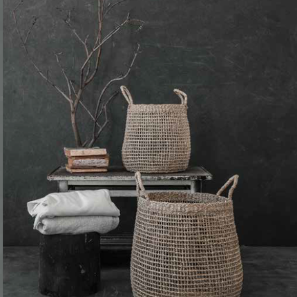 Design objects - SEAGRASS BASKETS - LO TABLEWARE