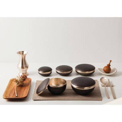 Everyday plates - Yuhwa dinner set (for 1 person) - GEO CHANG YU GI