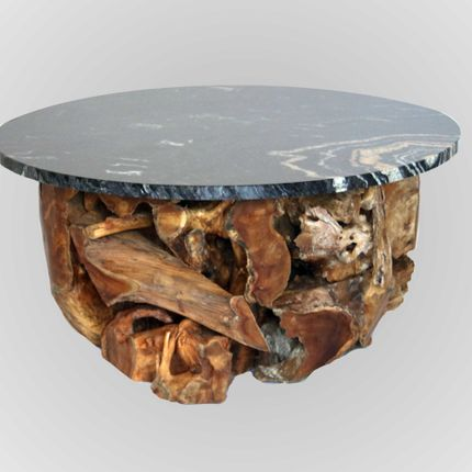 Coffee tables - Kayu Puzzle Coffee Table - HIJR LONDON