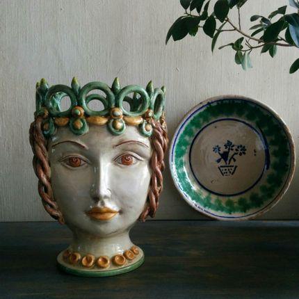 Vases - Federician Queen Vase  - AGATA TREASURES