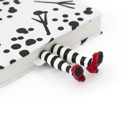 Gift - Wicked Witch Whimsical Bookmark, handmade - myBookmark