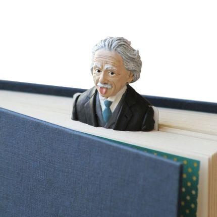 Gift - Einstein 3D Bookmark, fait à la main - MYBOOKMARK