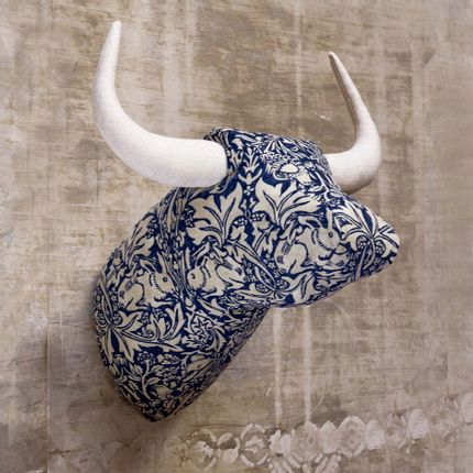 Wall decoration - Soft Bull Hares - Animal head - SOFTHEADS