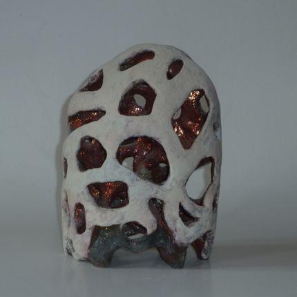 """Sculpture - """"Stèle dentelle""""2 - ELISABETH BOURGET"""