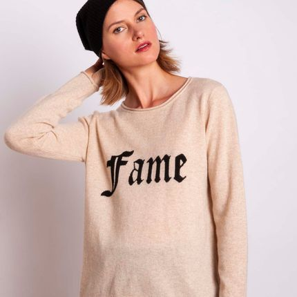 Ready-to-wear - Sweater FAME  - MADLUV CASHMERE GOES POP