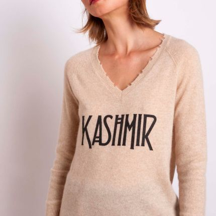 Ready-to-wear - Sweater KASHMIR  - MADLUV CASHMERE GOES POP