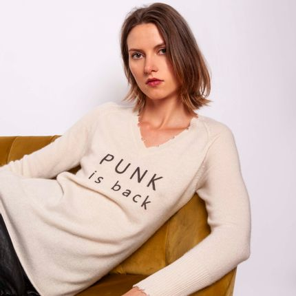 Ready-to-wear - Sweater PUNK IS BACK - MADLUV CASHMERE GOES POP