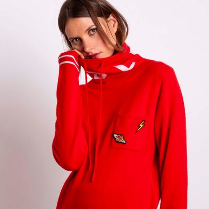 Ready-to-wear - Sweater RED MDLV - MADLUV CASHMERE GOES POP