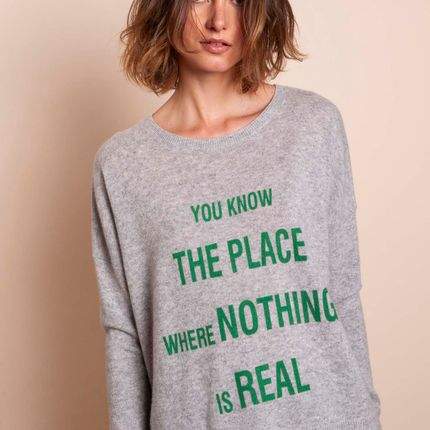 Ready-to-wear - Sweater THE PLACE - MADLUV CASHMERE GOES POP