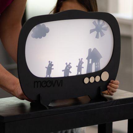 Jeux - Théâtre d'ombres en bois MOOVVI, fait main - ENJOYTHEWOOD