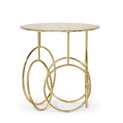 Desks - Kiki Side Table  - COVET HOUSE