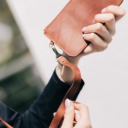 Leather goods - Leather Tote Bag - ENJOYTHELEATHER